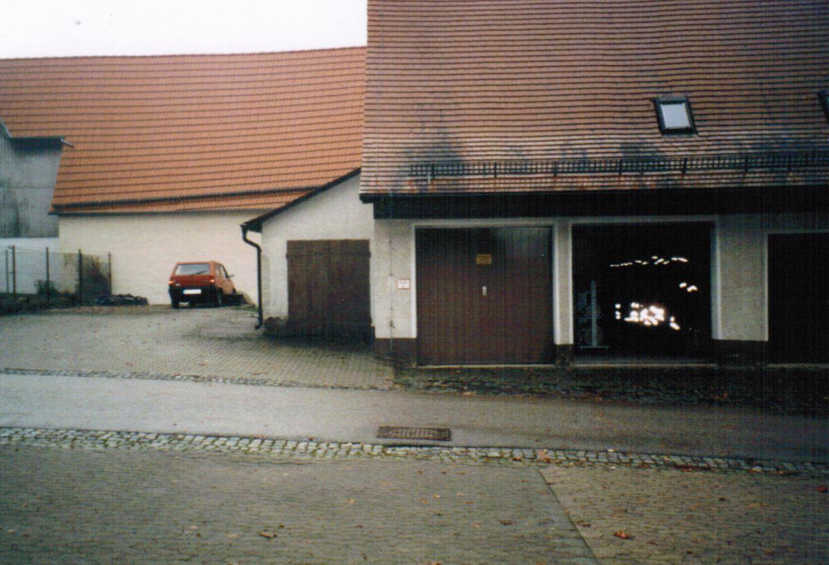 Gerätehaus im Jahr 2004